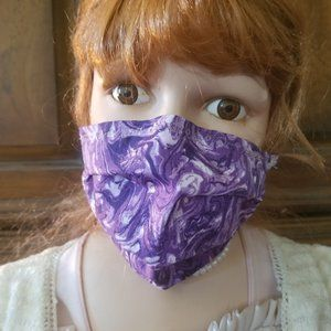 Kid Size Mask w/ Silver & Copper Filters- Purple